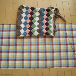 内袋の布地選び&縫い始める!