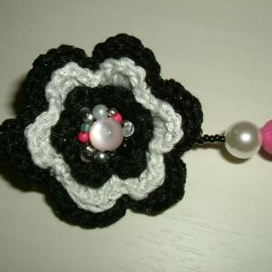 編み玉ネックレス(その2)