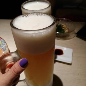 外国のお友達と日本の普通の居酒屋へ♪地鶏専門個室 石ばし 秋葉原本店