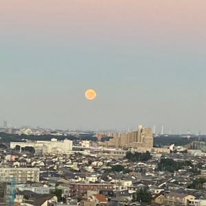 中秋の名月と満月^^r