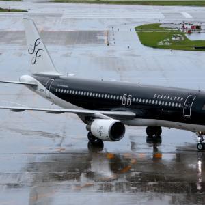 SFJ A320-200のタイシング