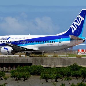 ANA B737-500 まだまだ現役