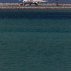 RWY36Lからの離陸
