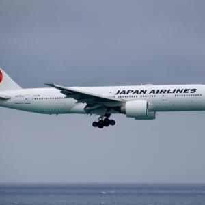 JAL B777-200ER 国際線機材