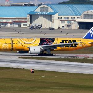 年始のC-3PO ANA JET