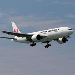 JAL B777-200ER JA710J