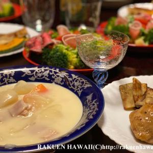 クリスマスディナーとアジアンランチ