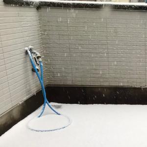 雪が雪が・・・