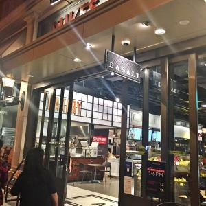 DUKES LANEのメインレストラン&バー『BASALT』のテラス席で絶賛2次会中♪