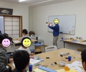 親子で電子工作in桂 2018年3月開催報告