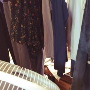 洗濯物を眺めながら独り暮らしの予行練習