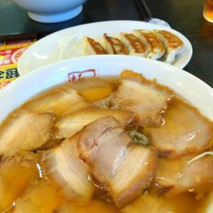 プチぎっくり腰とチャーシュー拉麺