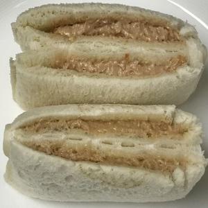 フジパン VS ヤマザキ ピーナッツサンド比べ