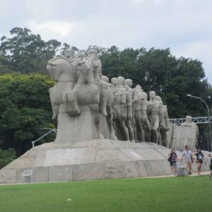 イビラプエラ公園を散策。それから・・・
