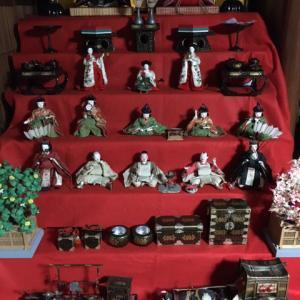 関西では、お雛祭りは、旧暦で行います!