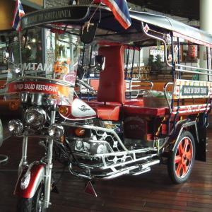 懐かしの三輪車