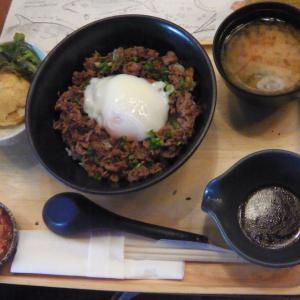 """日本料理レストラン""""Gyudon Express""""でランチ"""