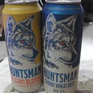 タイの新しいビール HUNTSMAN BELGIAN BLONDE