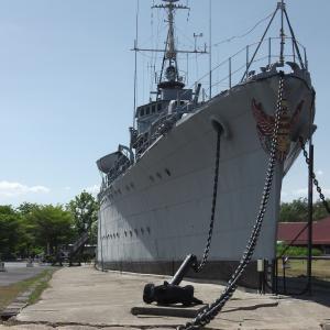 タイ軍艦 メークロン号 戦前に浦賀造船所で建造