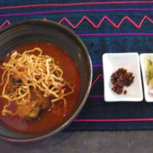 """北タイ料理店""""Lumtae""""プラカノンでピリ辛のカオソーイ"""