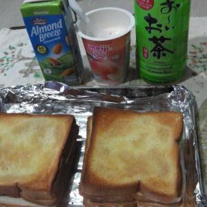 コンビニで買う北海道ミルク(風味)食パン