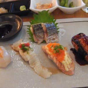 """日本料理レストラン""""Maguro Sushi""""でランチ"""