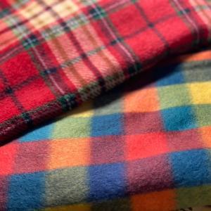 ガーゼのはぎれで布巾作り