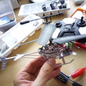 小物修理の時の工夫。AMラジオと両端ワニ口クリップ付きの電線が大活躍!てどゆこと?