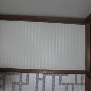 フランフランで買ったオサレな壁紙の残りを貼ってミタ。