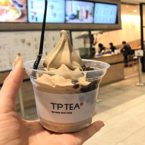 新宿『TP TEA』タピオカほうじ茶ソフトクリーム
