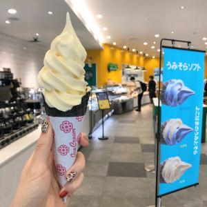 日本大通り『gooz グーツ』バニラソフトクリーム
