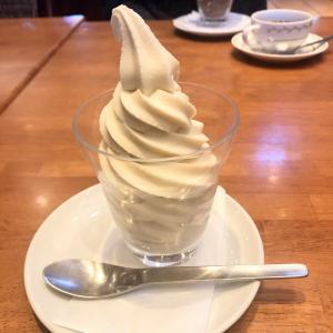 海老名『茶屋亜希子』豆乳ソフトクリーム