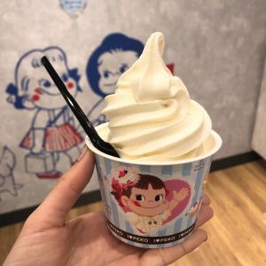 川崎『不二家』北海道ミルクソフトクリーム