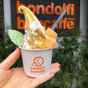 代官山『bondolfi boncaffeボンドルフィ ボンカフェ』アラゴスタ マンゴー