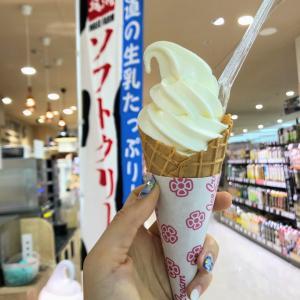上尾『イトーヨーカドー 上尾駅前店』北海道岩瀬牧場ソフトクリーム