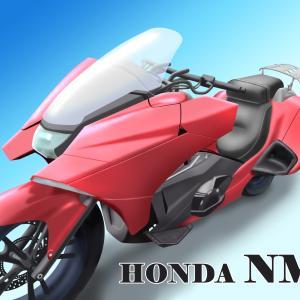 HONDA NM4 オートバイのイラスト練習2
