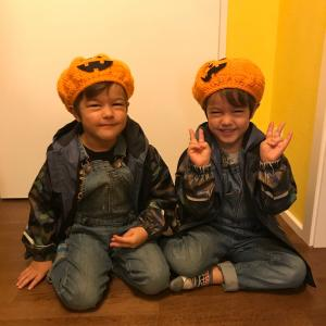 【ハロウィン仕様】かぼちゃの帽子