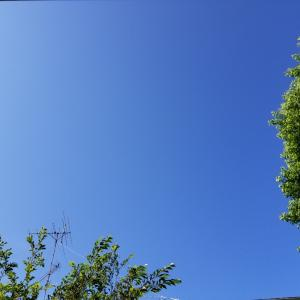 雲一つ無い土曜日