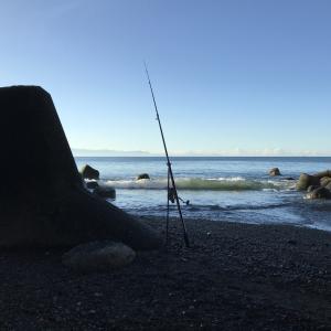 避暑地でのシロキス釣りは完敗