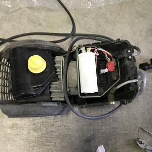 HD605モーター焼け?