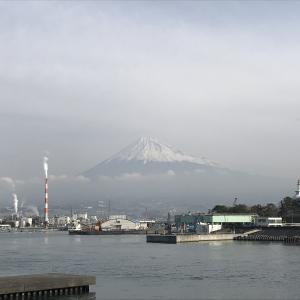3/19日 8時30分 富士山