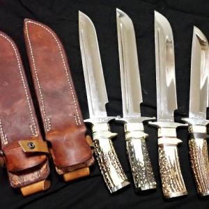 職人最後のナイフ2本を購入したのだ!!