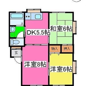 大津町でお得な3DK 賃貸物件 株式会社あゆみ不動産