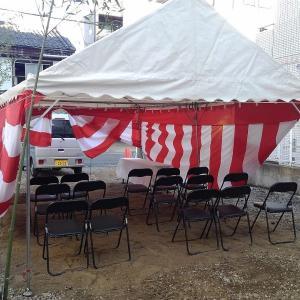 大阪市 東成区東中本 にて地鎮祭!