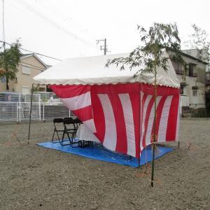 堺市 西区津久野町 にて地鎮祭!