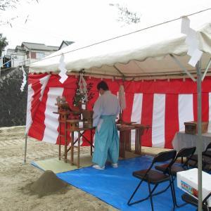 奈良県 生駒市あすか野北 にて地鎮祭!