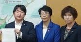 地震被害復旧 政府に要請