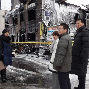 札幌貧困者住宅火災