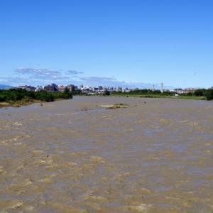 濁流多摩川