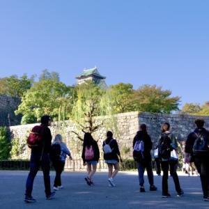 大阪城公園再び